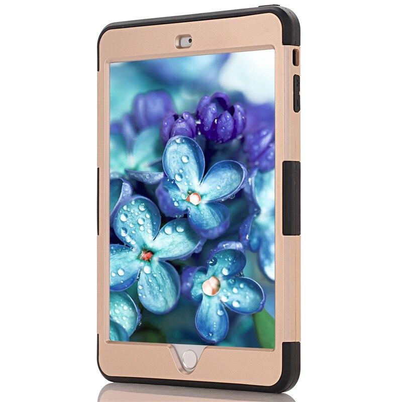 Coque iPad Mini Cover Case 2016 üçün rəngarəng hibrid zirehli - Planşet aksesuarları - Fotoqrafiya 3