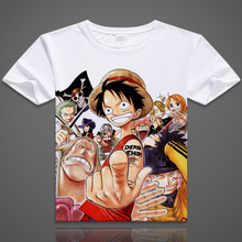 Free shipping Real Top Sale Mens New 2017 Fashion Short Sleeve Tee Anime T Shirt One