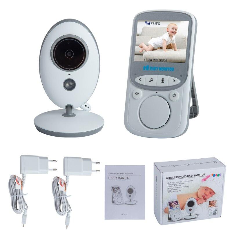 2.4 inci Warna LCD Tanpa Wayar Digital Audio Video Keselamatan Bayi - Keselamatan bayi - Foto 6