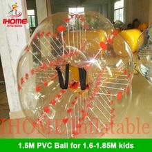 1.5M  PVC  Bubble Soccer bubble Football bubble ball zorb ball loopy ball bola de futebol free shipping pvc bubble soccer zorb ball loopy ball inflatable human hamster ball bumper balls 1 5m for adults