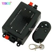 LED dimmer 3 keys RF Wireless Remote LED single color for led 5050 3528 3014 strip light комплектующие для осветительных приборов pole hi light 3528 led 5050 220v 3014