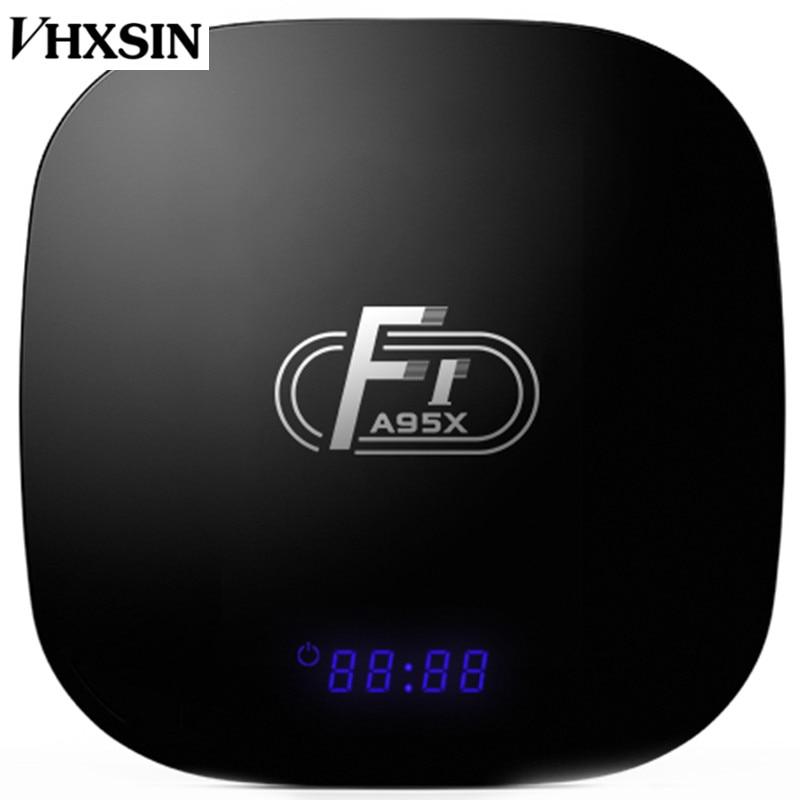 VHXSIN 10PCS LOT A95X F1 Smart TV Box Android 8 1 2GB 16GB Amlogic S905W Quad