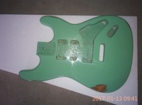Do old grass green to complete the guitar body assembly/st guitar piano piano