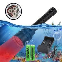 1000LM Waterproof Scuba Diving Flashlight XPE Flash Light Ta