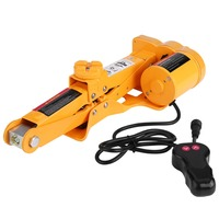 2 Ton 12V DC Automotive Electric Jack Lifting Car SUV Emergency Tools W Impact Wrench With