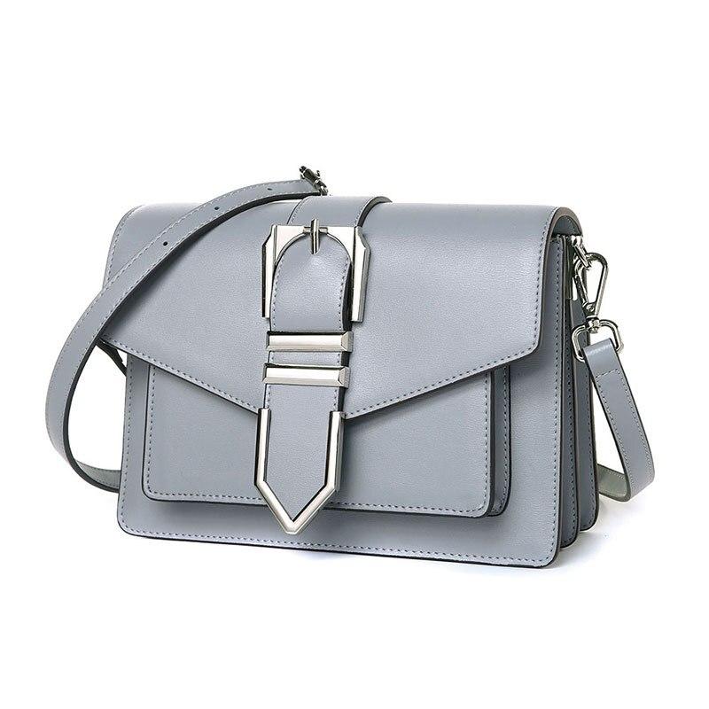 9313  New fashion all-match portable Satchel Magnetic Buckle Handbag Genuine Leather Shoulder Bag9313  New fashion all-match portable Satchel Magnetic Buckle Handbag Genuine Leather Shoulder Bag