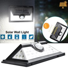 цены Solar Lights 32 LED 52LED Garden Wall Lamp Outdoor Security Lighting Waterproof Motion Sensor Detector Lampe Solaire Exterieur