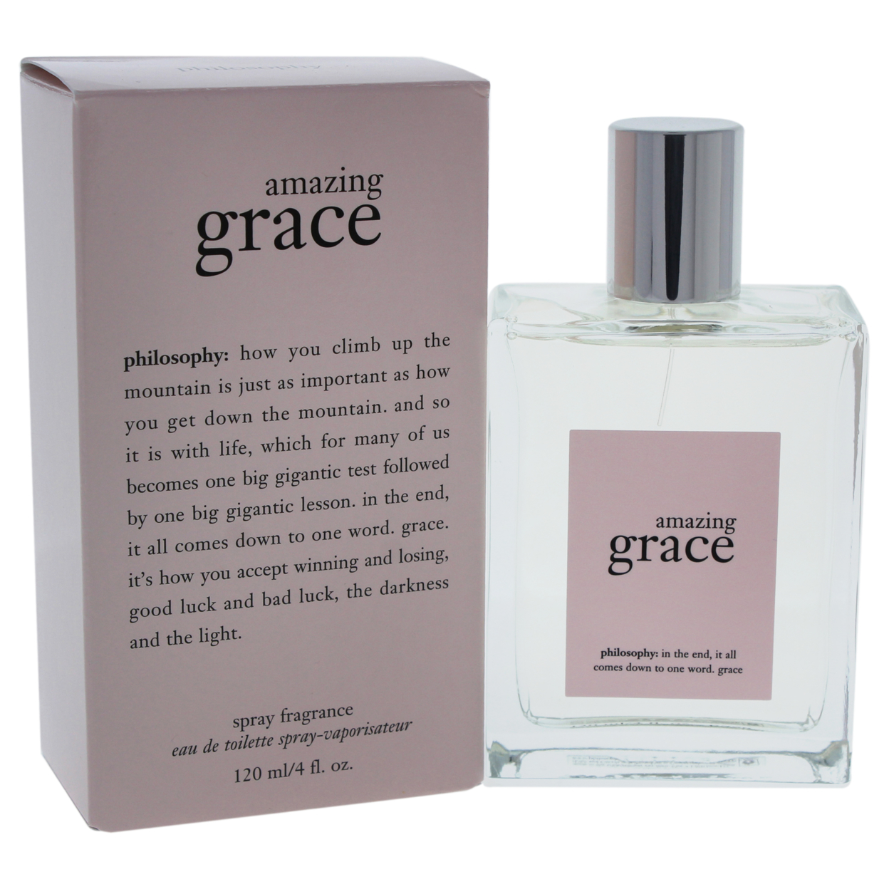 Amazing Grace by Philosophy for Women - 4 oz EDT Spray amazing grace cd