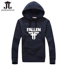 James wang king 2016 Winter fleece Hoodies men Hip Hop Sportswear hoody Sweatshirt Solid Pullover Hoodie Man brand Clothing XXXL