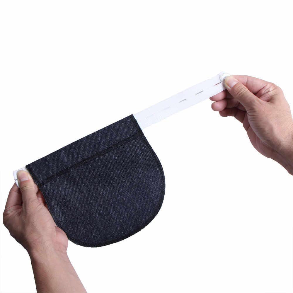 Premamá pretina cinturón elástico a la cintura extensor para pantalones recién llegado Dropshipping