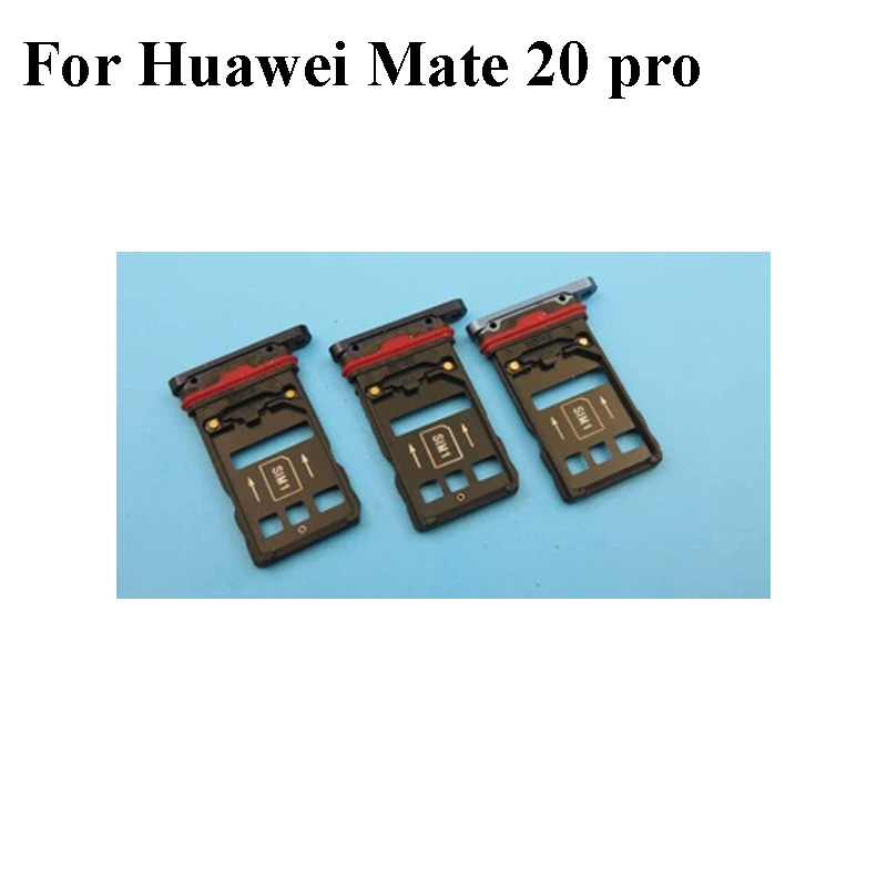 US $9 55 12% OFF|For HUAWEI Mate 20 Pro 20pro Nano Sim+Micro SD Card Tray  Holder Slot Socket 6 39 inch For HUAWEI Mate20 Pro Replacement Parts-in