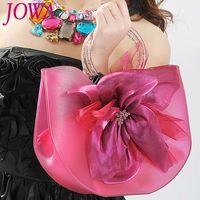 2019 New Design Fashion Casual Tote Sweet Flower Jelly Package Candy Color Handbags Open Pocket High Quality PVC Top Handle Bags