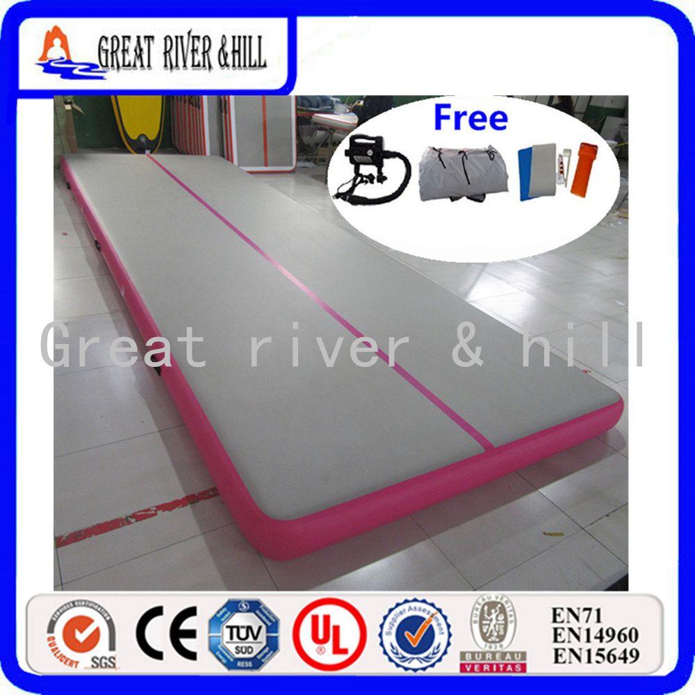 pink gymnastic mat