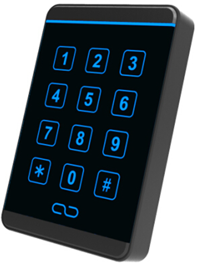 ФОТО Free shipping,13.56M proximity IC touch Keypad  reader , wiegand 26/34 output, suit  for Access Control sn:T20 ,min:5pcs