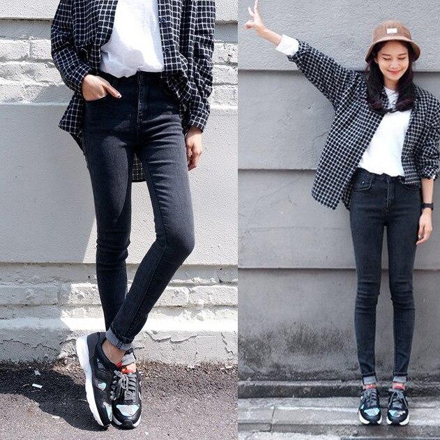 Aliexpress.com : Buy 2015 New Korean Women Black Skinny Pencil ...