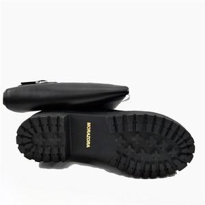 Image 5 - MORAZORA bottes au dessus des genoux pour femmes, chaussures punk, à la mode, à talons, en cuir PU souple, grandes tailles 34 43