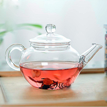 Transparent Teapot Heat Resistant Glass Teapot With Chinese Infuser Coffee Flower Tea