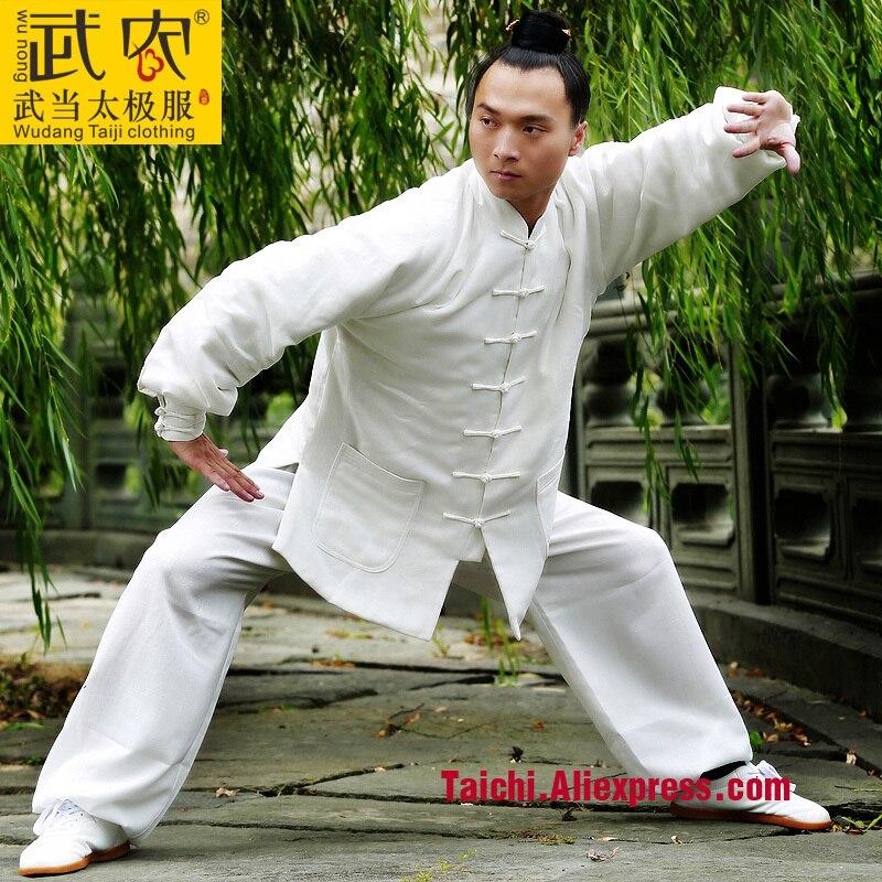 Wu Nong Wudang Tai chi vêtements avec chaud hiver coton coton exercice Wushu Taijiquan vêtements pour hommes et femmes