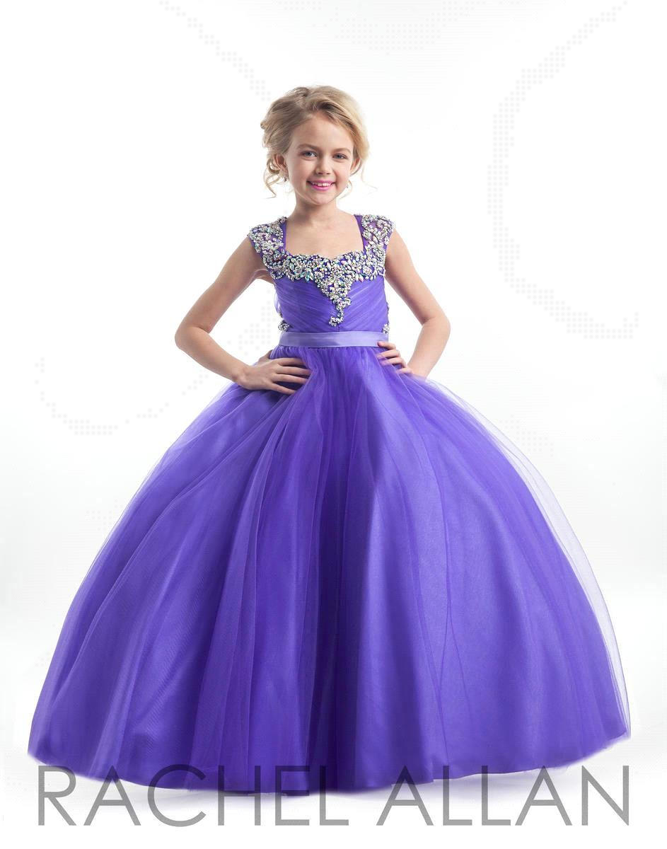 Latest prom dress children 2016 Ball gown Cute Tulle girls pageant ...