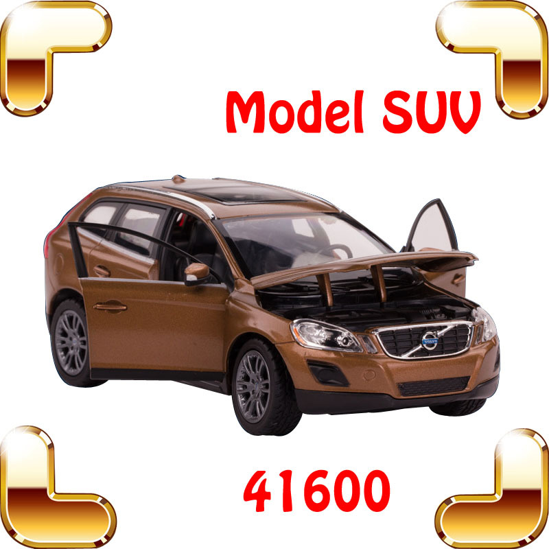 New Year Gift XC60 1/24 Alloy Model Car Vehicle Toys Mini Opening Car Doors Simulation Decoration Car Fans Collect