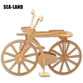 3d wooden gun army fans military enthusiasts jigsaw puzzle toy educational wooden toys for diy handmade puzzles weapon series Kids New Toys Wooden 3D Puzzle For Children Baby Traffic Bicycle DIY Puzzles Toy Early Educational Learning Children Wood Jigsaw