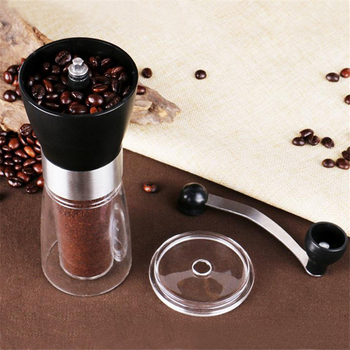 Coffee Grinder Washable Ceramic Core Handmade Mini Coffee Bean Burr Grinders Mill Kitchen Tool portable manual coffee grinder 5