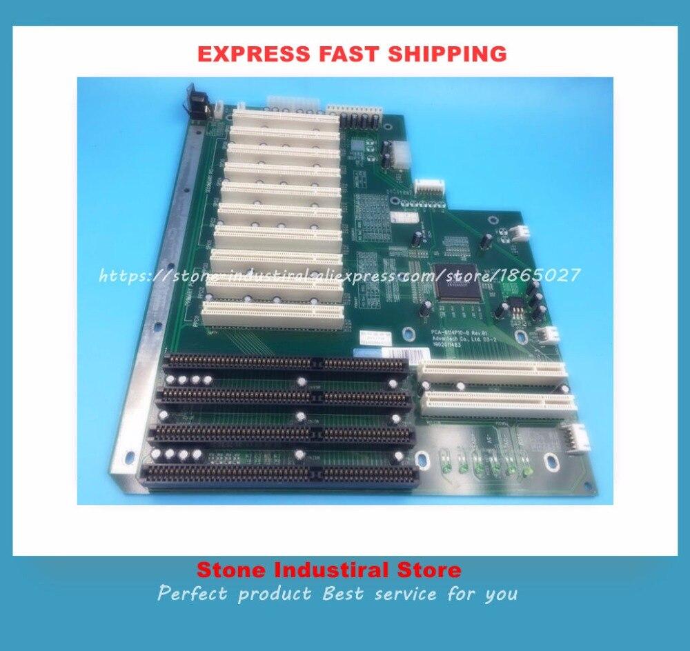 PCA-6114P10-B PCA-6114P10 REV.B1 10 Slot PCI 4 slot ISA IPC boardPCA-6114P10-B PCA-6114P10 REV.B1 10 Slot PCI 4 slot ISA IPC board