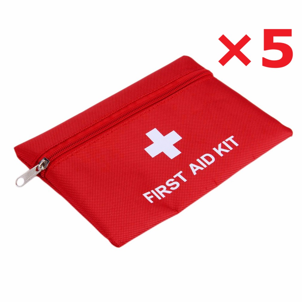 Mini Waterproof Portable Outdoor First Aid Kit EVA Bag For Emergency Treatment In Travel And At Home Size 16*11CM