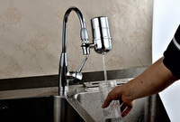 Hot Sale Household Kitchen Activated Carbon Faucet Mounted Pre Water Filter