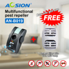 Buy Anion Free Shipping Pest Repeller Electronic Ultrasonic Bug Reject Pest Control Rat Mouse Got Mosquito