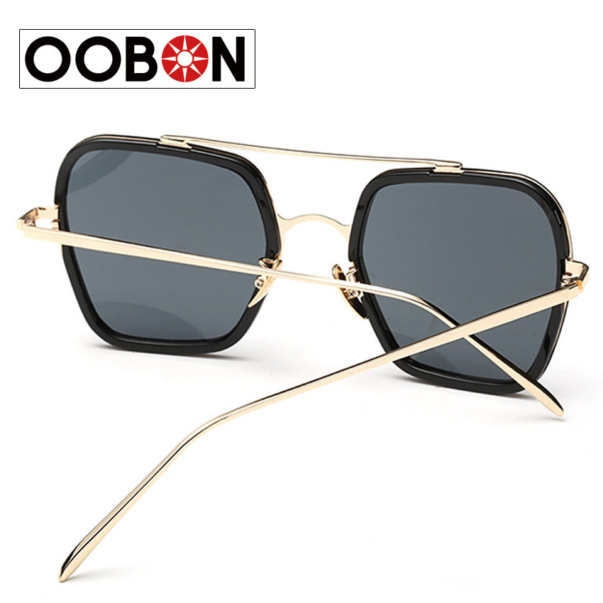 22afbbedc66 Newest Retro Oversize Square Thom Browne Square Sunglasses Men Women Vintage  Casual Eyewear Retro pectacles Oculos de sol-in Sunglasses from Apparel ...