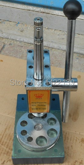 Jewelry Making Tool Ring Stretcher & Reducer With Two Poles Ring Size Adjustment ring stretcher and reducer machine measurement scales for hk size ring sizer making measurement tools