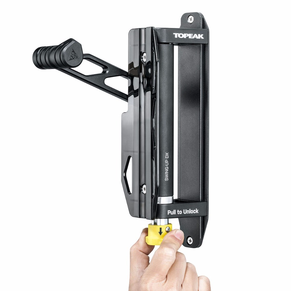 Topeak Tw019 Swing Up Dx Bike Bicycle Stand Holder Wall