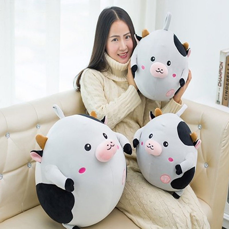 Fancytrader Big Fat Piggy Plush Toy 50cm Stuffed Soft Animal Pig Pillow Doll Nice Kids Gifts 2colors Available stuffed animal 120 cm cute love rabbit plush toy pink or purple floral love rabbit soft doll gift w2226