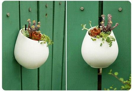Керамическая аудио-рекордер сосудисто флорес бассейна керамические цветочные горшки цветочные горшки висячие керамический горшок флер декор для дома сад украшения сад горшок