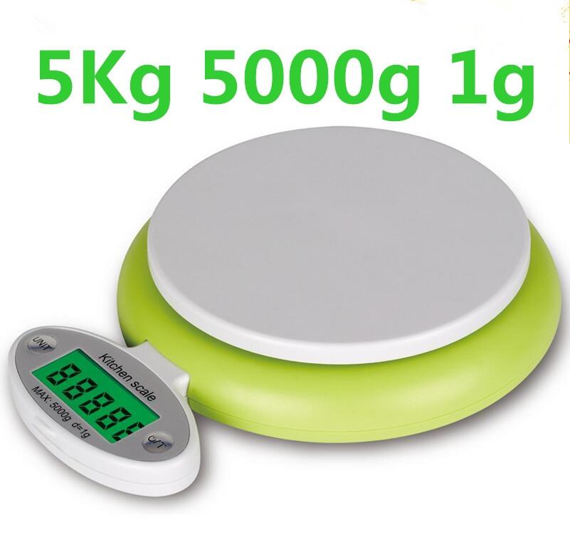 5 kg 5000g 1g Digitale Elektronische Küchenwaage faltbare küche ...