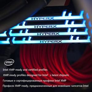 Image 4 - Kingston HyperX Predator RGB DDR4 8GB 16GB 3200MHz 3600MHz 4000MHz CL16 DIMM XMP Memoria Ram ddr4 için masaüstü bellek Rams