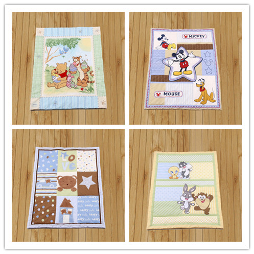 Promotion!  Cartoon Baby Bedding Set Cartoon Crib Bedding Set For Girls Cot Quilt Baby Duvet Baby Quilt