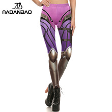 NADANBAO Brand New Women leggings Super HERO Widowmaker Leggins Printed legging for Woman pants
