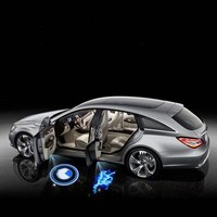 Qirun Led atmosphere lamp welcome light for opel astra J 2015 2016