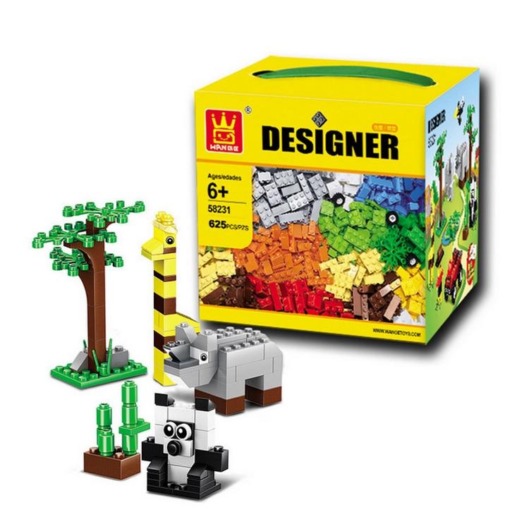 Building Blocks 625pcs DIY Creative Special Bricks Toys ...