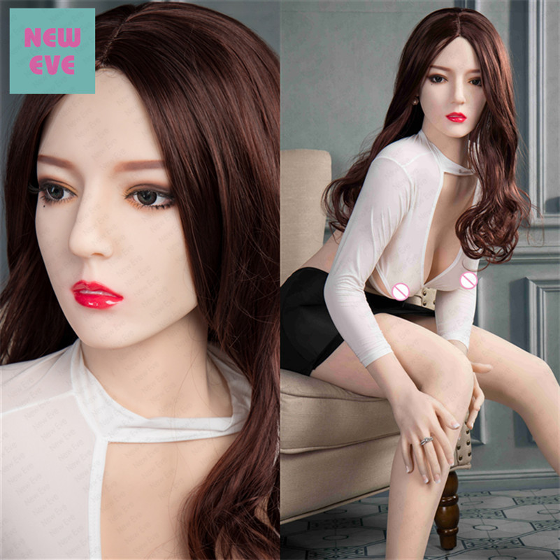 Full Size Solid Silicone Sex Doll Oral Vagina Sex Toys 165cm Anime Love Doll Artificial Pussy
