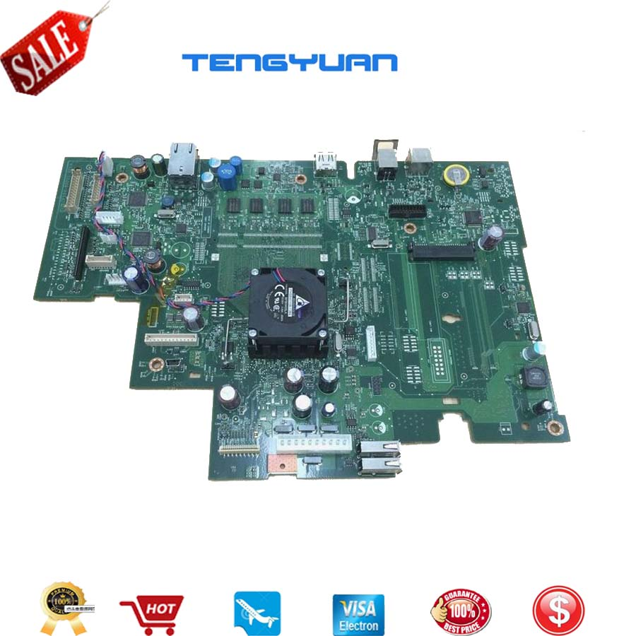 Free shipping Original CF104-60001 Formatter Board fit with fan for hp LaserJet 500 M525 spare part printer part mother board стоимость