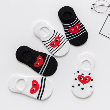 1-12y New Summer Baby kids Invisible Ankle Socks Boys Girls Short Socks Cotton Cartoon Kits Mielas animacinis filmas 5pairs / pack
