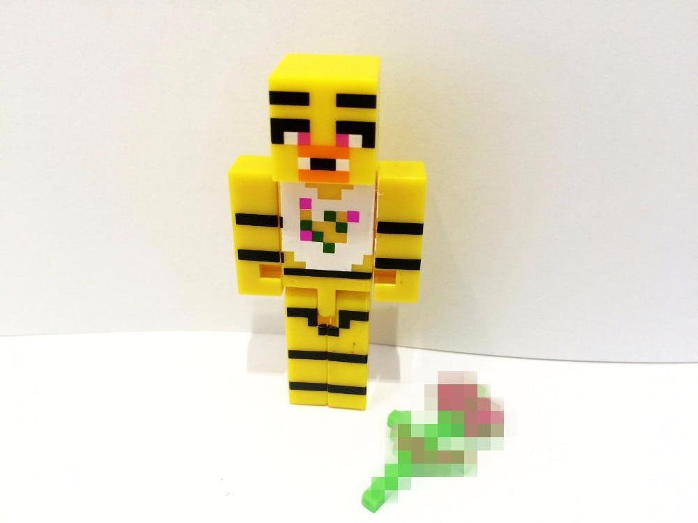Minecraft Toy Freddy : Minecraft style action figures set