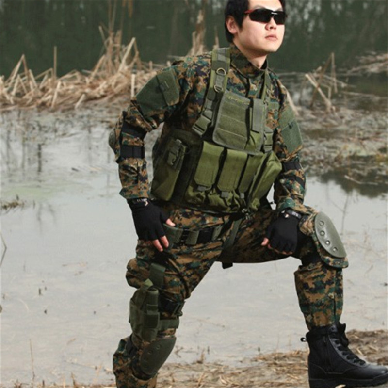 my army military uniform for men Kombinezon wojskowy Odzież wojskowa Marpat Woodland MW CL-01-MW