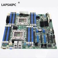 Lapsaipc S2600CP X79 сервер материнская плата LGA 2011 системы Материнская плата полностью проверена