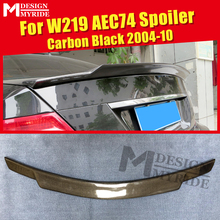цена на For Mercedes W219 4MATIC Carbon fiber Duckbill Trunk spoiler wing C74 style CLS Class CLS350 CLS400 450 CLS63 Look wing 2004-10