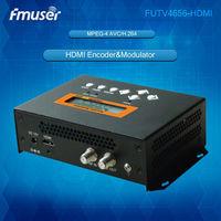 DVB T/DVB C (QAM)/ATSC MPEG 4 AVC/H.264 HD Encoder Modulador (Sintonizador  HDMI in; RF out) com USB para Uso Doméstico|encoder modulator|hd encoder|h.264 hd encoder -