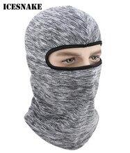 ICESNAKE Motorcycle Mask Outdoor Hats Full Face Ski Motorbike Balaclava Helmet Hood Cap